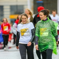 The 25th Lattelecom Riga marathon - Estere Purmale (18031), Ērika Melentjeva (18040)