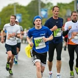 The 25th Lattelecom Riga marathon - Sven Humek (3399), Andris Voroņko (5901)