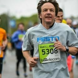 The 25th Lattelecom Riga marathon - Bernd Bruy (5308)