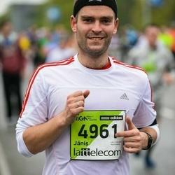 The 25th Lattelecom Riga marathon - Jānis Krastiņš (4961)