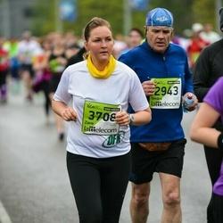 The 25th Lattelecom Riga marathon - Ilmārs Skuja (2943), Zane Kalniņa (3708)