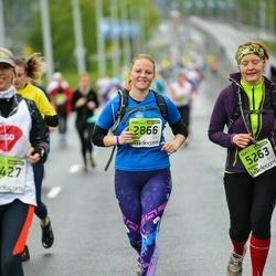 The 25th Lattelecom Riga marathon - Baiba Veļika (2866), Agnese Caune (5263)