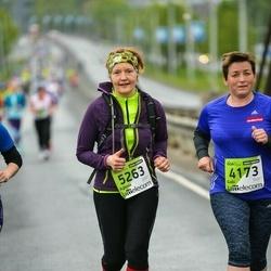 The 25th Lattelecom Riga marathon - Gabi Schnackenberg (4173), Agnese Caune (5263)