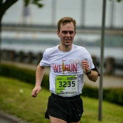 The 25th Lattelecom Riga marathon - Andrius Dalinkevicius (3235)