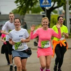 The 25th Lattelecom Riga marathon - Santa Audere-Zaļaiskalns (4357), Inese Laizane (4399)