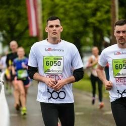 The 25th Lattelecom Riga marathon - Jānis Šulcs (6050)