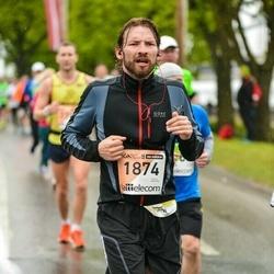 The 25th Lattelecom Riga marathon - Kaspars Primaks (1874)