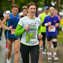 The 25th Lattelecom Riga marathon - Ingrīda Greivule (3160)