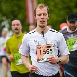 The 25th Lattelecom Riga marathon - Aleksejs Sokolovs (1565)