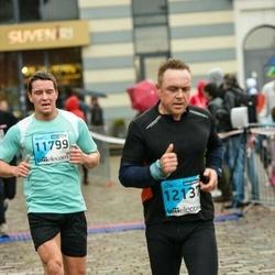The 25th Lattelecom Riga marathon - Jēkabs Kalpiņš (11799), Aigars Lagzdiņš (12137)