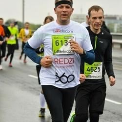The 25th Lattelecom Riga marathon - Evaldas Morkunas (4625), Gints Eglītis (6131)
