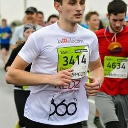 The 25th Lattelecom Riga marathon - Elvis Rubīns (3414)