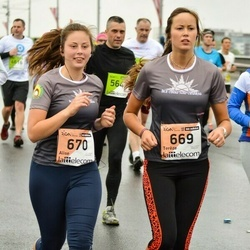 The 25th Lattelecom Riga marathon - Terēze Peniķe (669), Alise Peniķe (670)