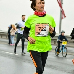 The 25th Lattelecom Riga marathon - Liubov Bogdanova (722)