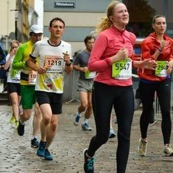 The 25th Lattelecom Riga marathon - Andris Osmanis (1219), Zane Vilsāre (5547)