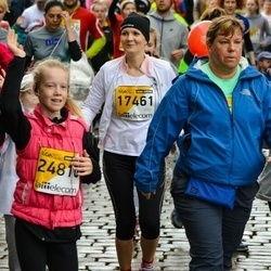 The 25th Lattelecom Riga marathon - Kristīne Valtere (17461), Alise Elga Kārkliņa (24810)