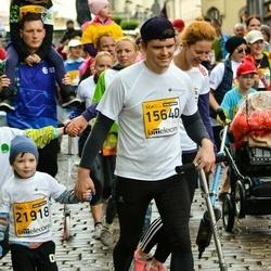 The 25th Lattelecom Riga marathon - Roberts Daugavvanags-Vanags (15640), Ernests Daugavvanags-Vanags (21918)