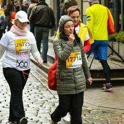 The 25th Lattelecom Riga marathon - Alisa Ritter (17714), Ilze Jurevica (26725)