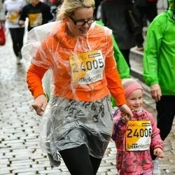 The 25th Lattelecom Riga marathon - Ilze Veidemane Kalniņa (24005), Agate Tija Kalniņa (24006)
