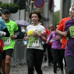 The 25th Lattelecom Riga marathon - Rimantas Antanavičius (4511), Evgenia Gorbina (4719)