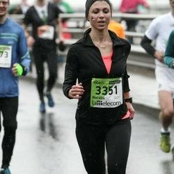 The 25th Lattelecom Riga marathon - Natalja Mjatšina (3351)