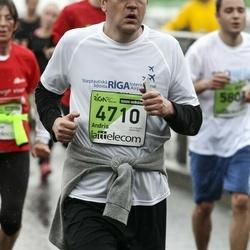 The 25th Lattelecom Riga marathon - Andris Liepiņš (4710)