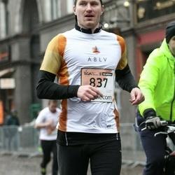 The 25th Lattelecom Riga marathon - Gatis Pļaviņš (837)