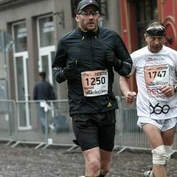 The 25th Lattelecom Riga marathon - Mārtiņš Menniks (1250), Aleksandrs Azarevičs (1747)