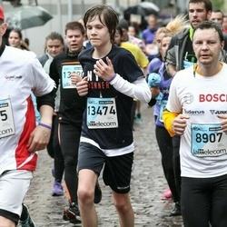 The 25th Lattelecom Riga marathon - Uldis Krusts (8907), Edvards Šneps (13474)