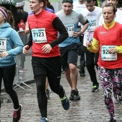 The 25th Lattelecom Riga marathon - Edgars Vicinskis (7123), Eva Kalniņa (9206)