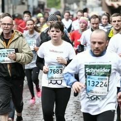 The 25th Lattelecom Riga marathon - Ginta Mežale (7683), Oskars Brežģis (10290)