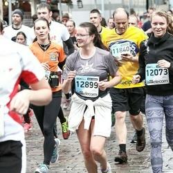 The 25th Lattelecom Riga marathon - Māra Zahare (12073), Anete Zahare (12899)