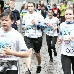 The 25th Lattelecom Riga marathon - Kate Anohina (12209), Jevgenij Kozyrev (12444)