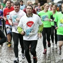 The 25th Lattelecom Riga marathon - Ainārs Rutks (7882), Ritvars Heniņš (11932)