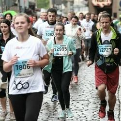 The 25th Lattelecom Riga marathon - Emīls Bašēns (12727), Irina Timofejeva (12995)
