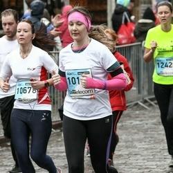 The 25th Lattelecom Riga marathon - Guna Paidere (10104), Ieva Poņimecka (10678)