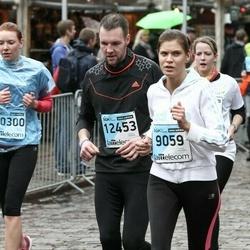 The 25th Lattelecom Riga marathon - Aija Gudreniece (9059), Miķelis Melderis (12453)