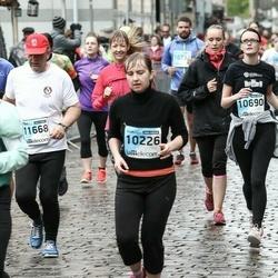 The 25th Lattelecom Riga marathon - Tatjana Bobileva (10226), Alise Gaile (10690)
