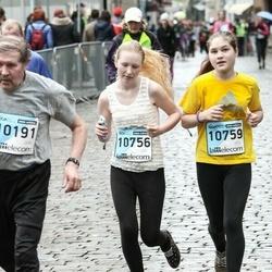 The 25th Lattelecom Riga marathon - Krista Zeltzaķe (10756), Agnese Tohva (10759)