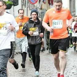 The 25th Lattelecom Riga marathon - Jānis Vītols (10311), Arvis Belova (23627)