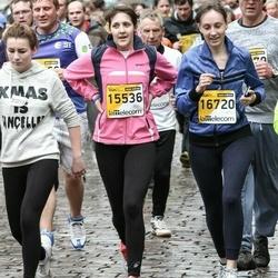 The 25th Lattelecom Riga marathon - Agnese Rimeiķe (15536), Jekaterina Hrjukina (16720)