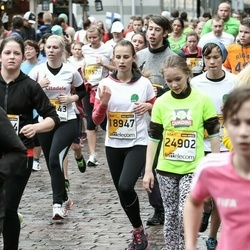 The 25th Lattelecom Riga marathon - Marta Bādere (18947), Adrija Apenīte (24902)