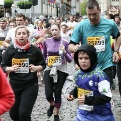 The 25th Lattelecom Riga marathon - Anastasija Dūdiņa (17574), Vidars Zviedris (25899)