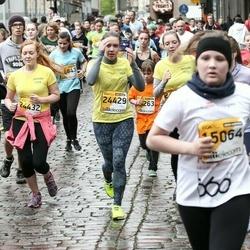 The 25th Lattelecom Riga marathon - Intars Liepiņš (15064), Anastasija Osmolovska (24429), Santa Niedra (24432)