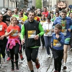 The 25th Lattelecom Riga marathon - Andris Pastors (16860), Aija Bondarevska (24056)
