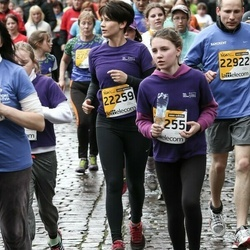 The 25th Lattelecom Riga marathon - Aija Grabe (22259), Artūrs Briška (22922)