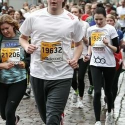 The 25th Lattelecom Riga marathon - Kārlis Ķilkuts (19632), Agnese Mārtiņkrista (21206)