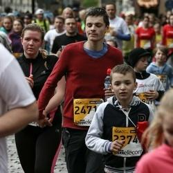 The 25th Lattelecom Riga marathon - Jānis Emīls Siliņš (23747), Alekss Jeršovs (24714)