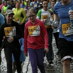 The 25th Lattelecom Riga marathon - Loreta Sargune (16760), Estere Mancevica (16761)