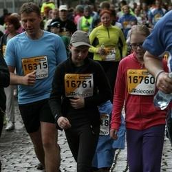 The 25th Lattelecom Riga marathon - Ivo Līdums (16315), Loreta Sargune (16760), Estere Mancevica (16761)